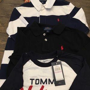 Boys Polo long sleeve tops (3)